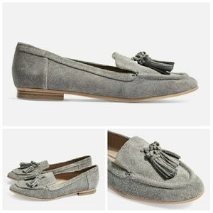 *Last chance* Suede leather loafers